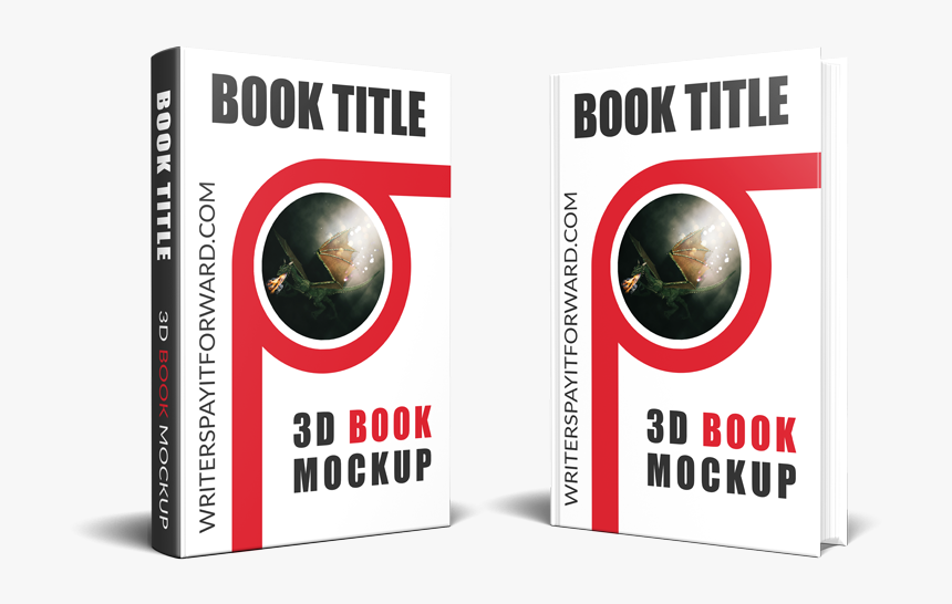 3d Book Png - Book Mockup Front And Back, Transparent Png, Free Download