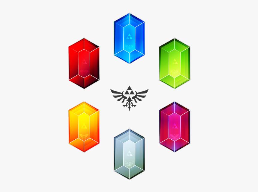 Zelda Wind Waker Rupees, HD Png Download, Free Download