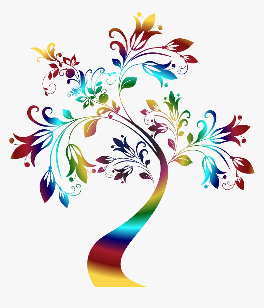 Art,petal,graphic Design - Colorful Floral Designs Png, Transparent Png, Free Download