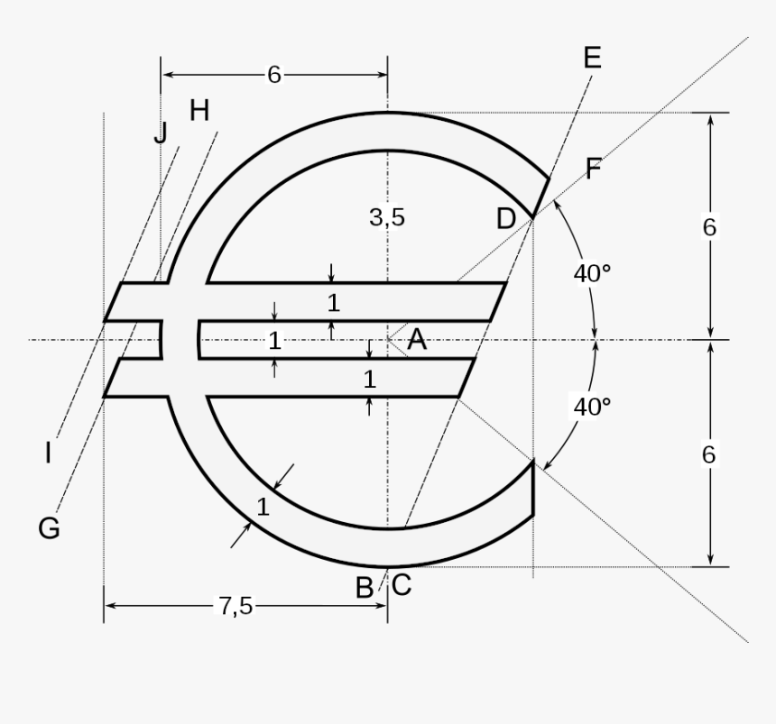 C With Two Lines, HD Png Download, Free Download