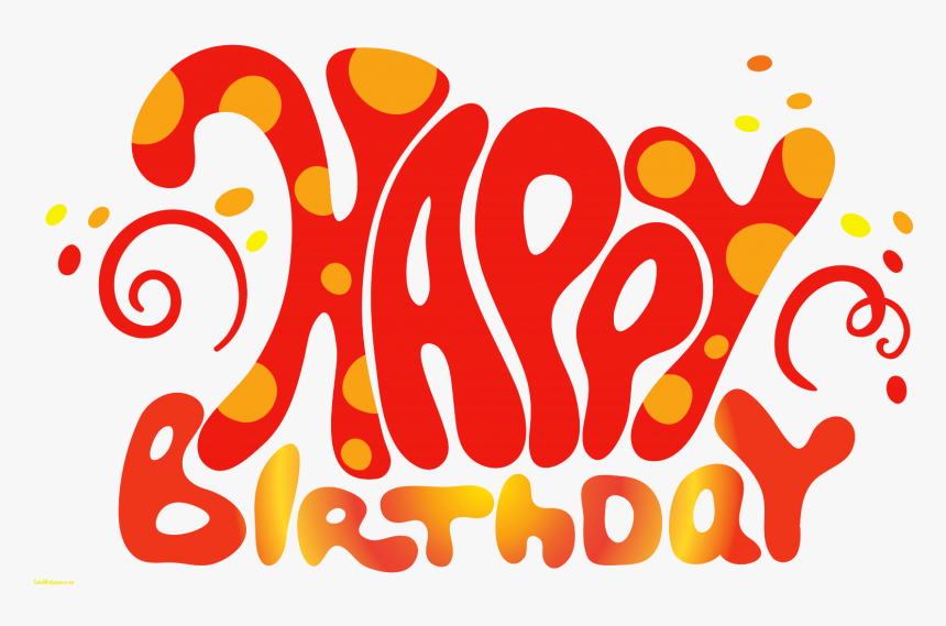 Picture Celebswallpaper Fall Clipartxtras - Happy 1st Birthday Text, HD Png Download, Free Download