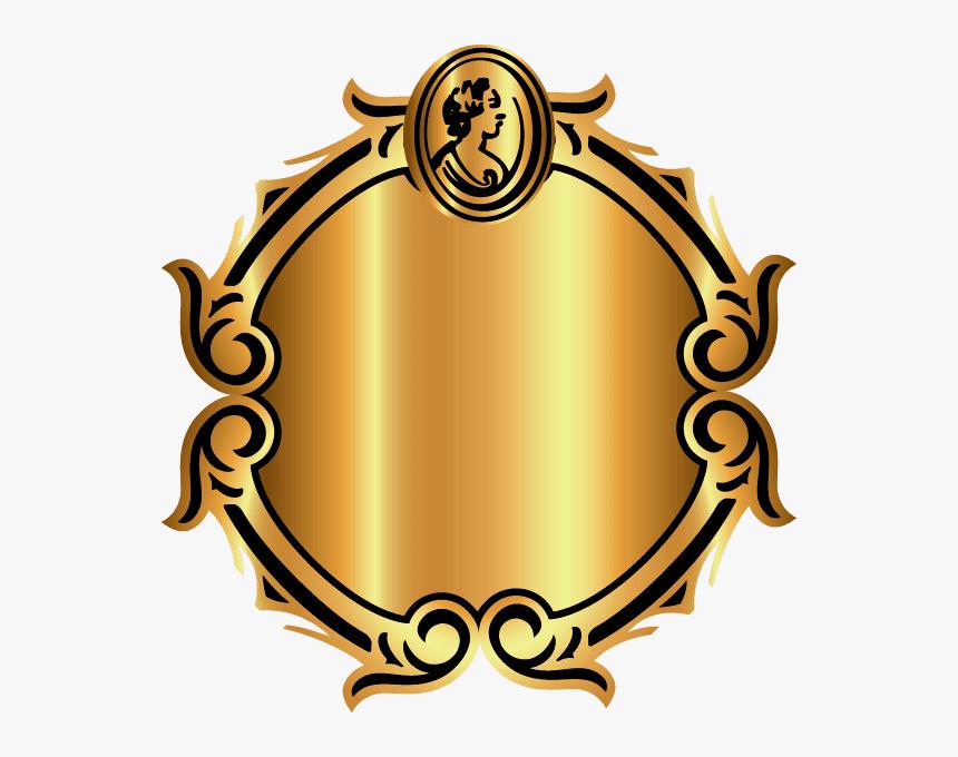 Transparent Mirror Clipart - Circular Frame Png, Png Download, Free Download