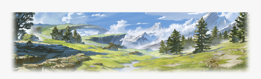 Mount Scenery , Png Download - Painting, Transparent Png, Free Download
