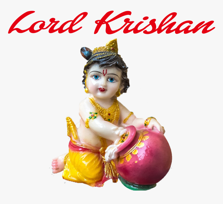 Lord Krishan Png Clipart - Lord Krishna At Childhood, Transparent Png, Free Download