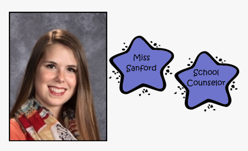Ms Sanford School Counselor - Girl, HD Png Download, Free Download