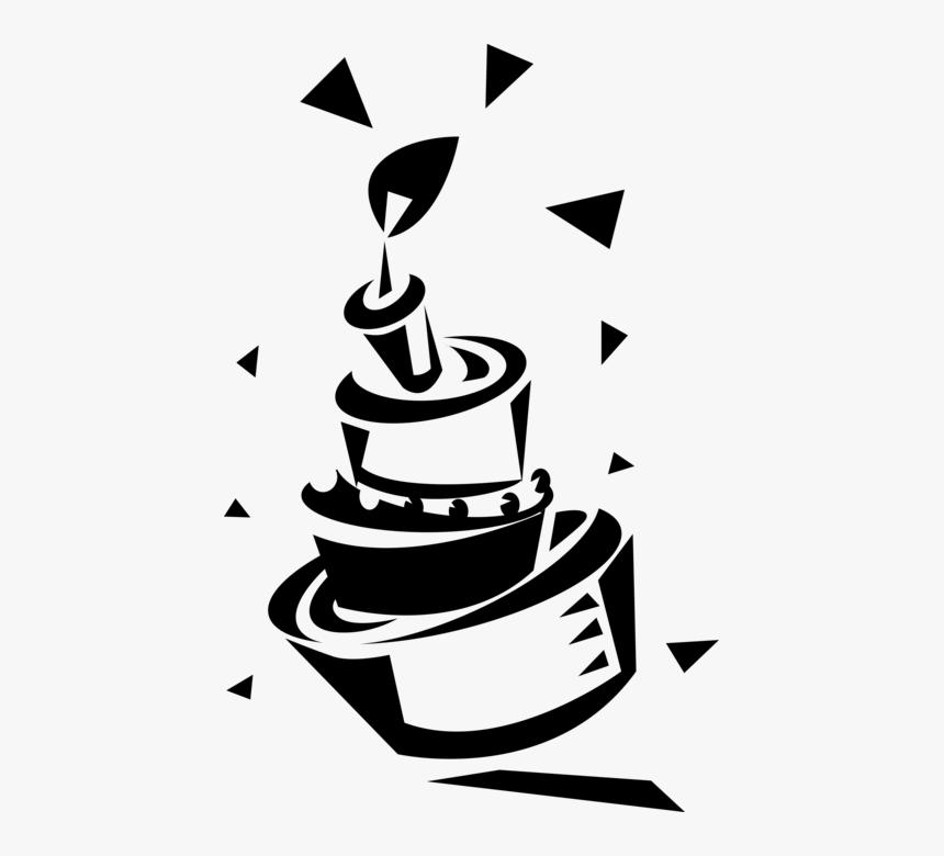 Amazing Vector Illustration Of First Birthday Cake Slice With Cake Funny Birthday Cards Online Amentibdeldamsfinfo