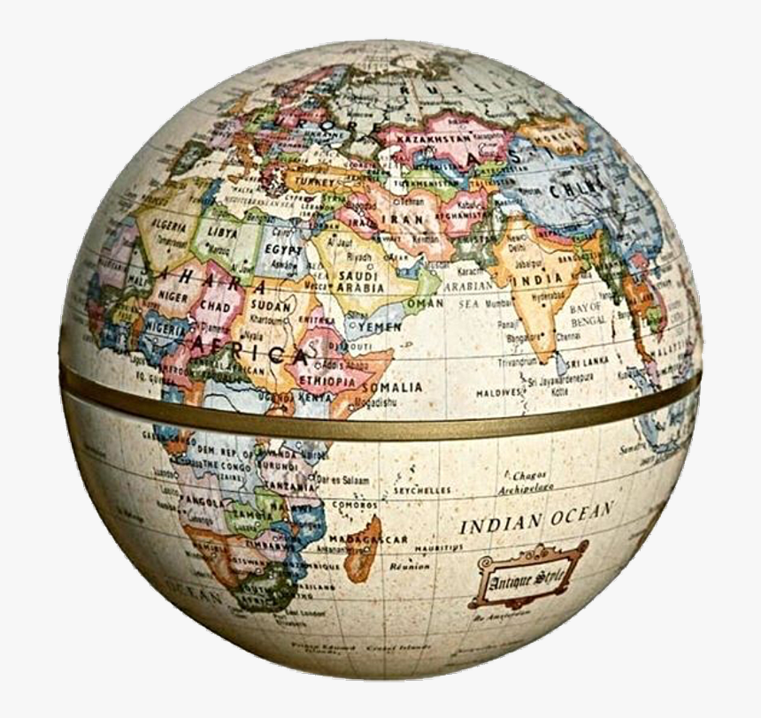 Antique Globe Online India , Png Download - World Png Aesthetic, Transparent Png, Free Download