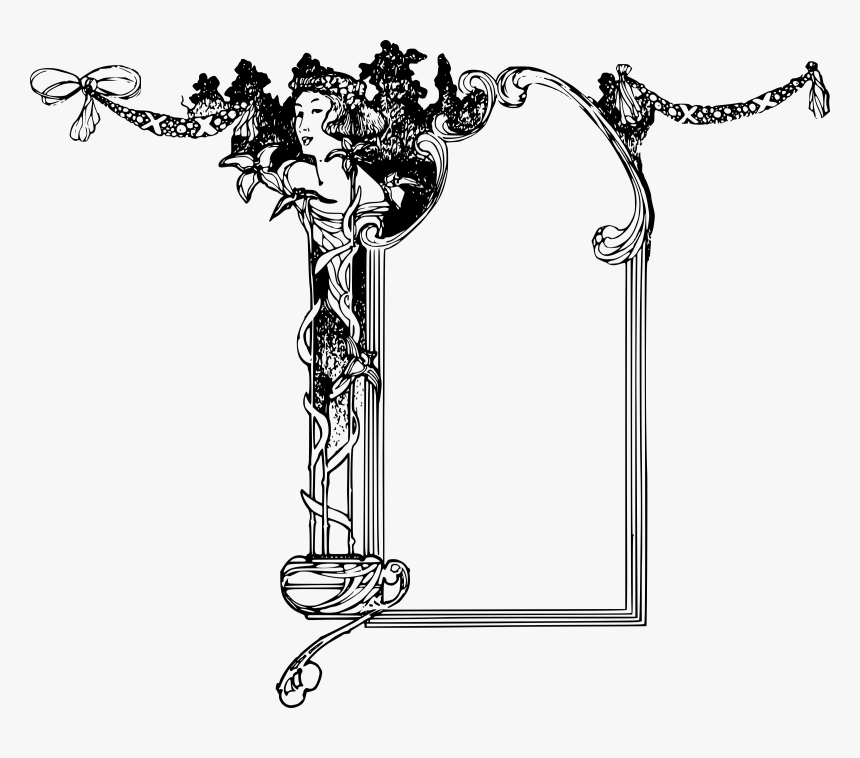 Goddess Frame Clip Arts - Goddess Free Clipart, HD Png Download, Free Download