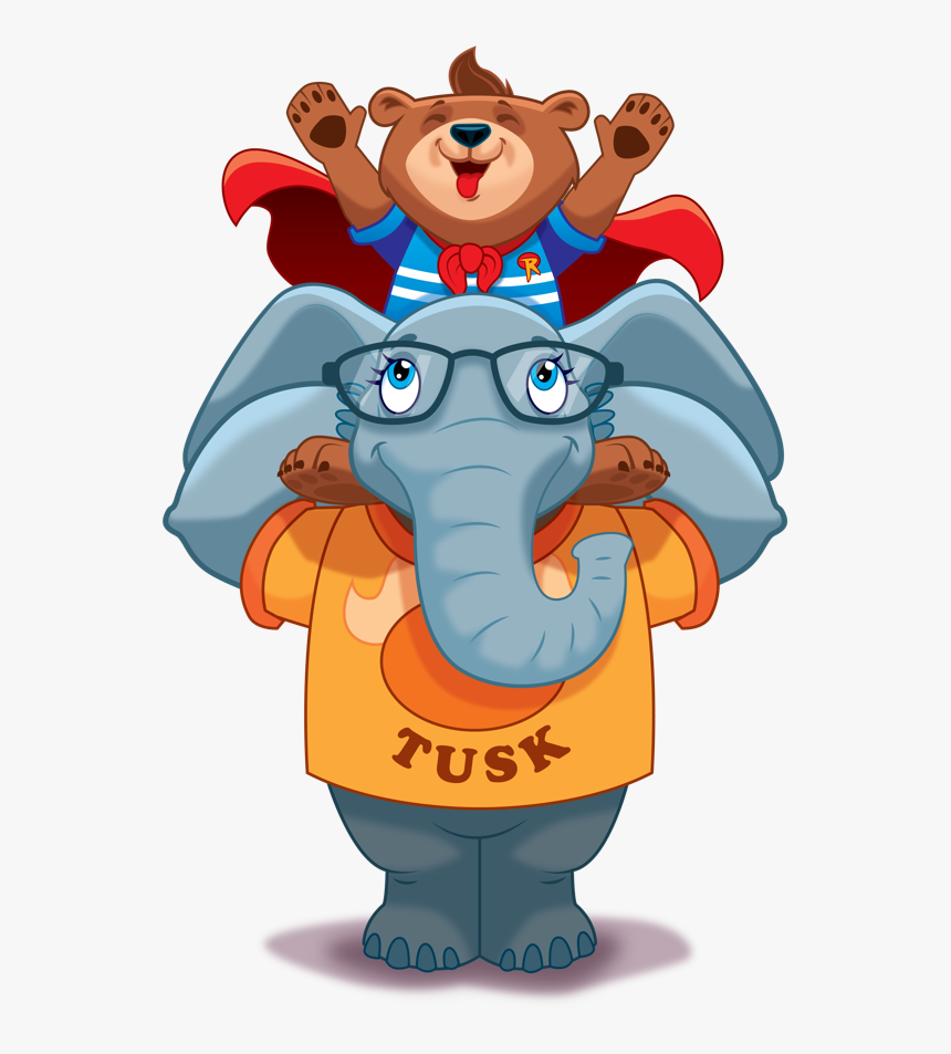 Riley The Brave Hero Cub Celebrates On Big Critters - Riley The Brave, HD Png Download, Free Download