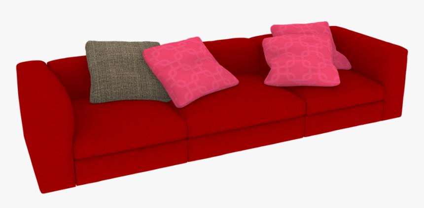 Sofa 3, Buy Clip Art - Furniture 3d Png, Transparent Png, Free Download