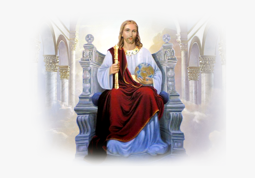 - Jesus Christ The God , Png Download - King Jesus On The Throne, Transparent Png, Free Download