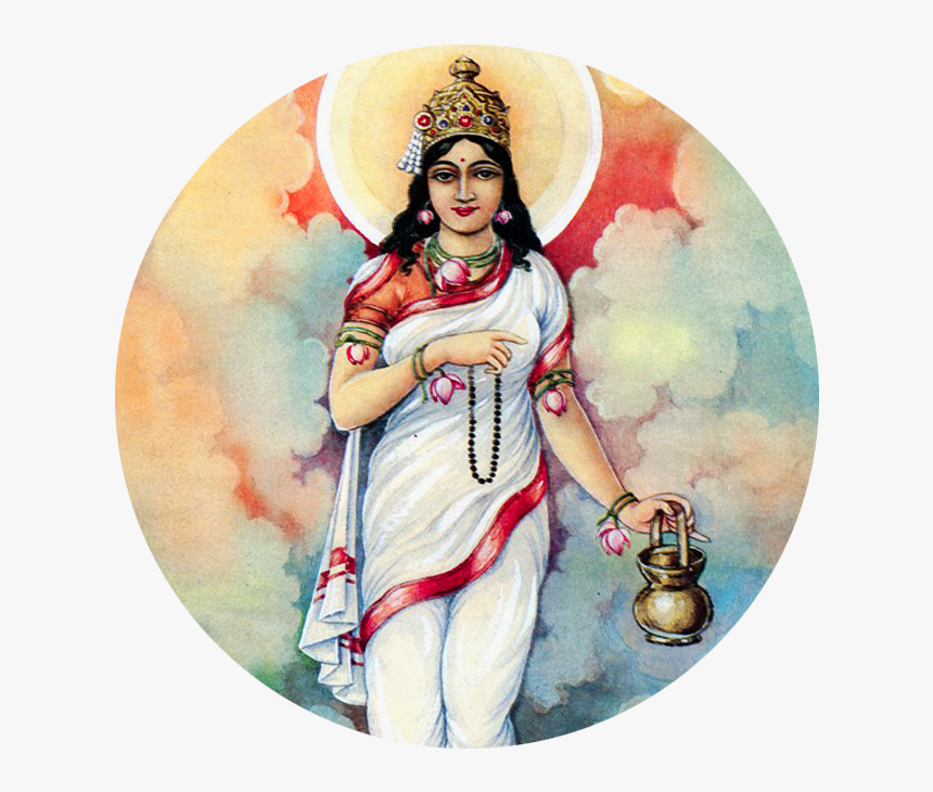 Brahmacharini - Durga Puja 2nd Day, HD Png Download, Free Download