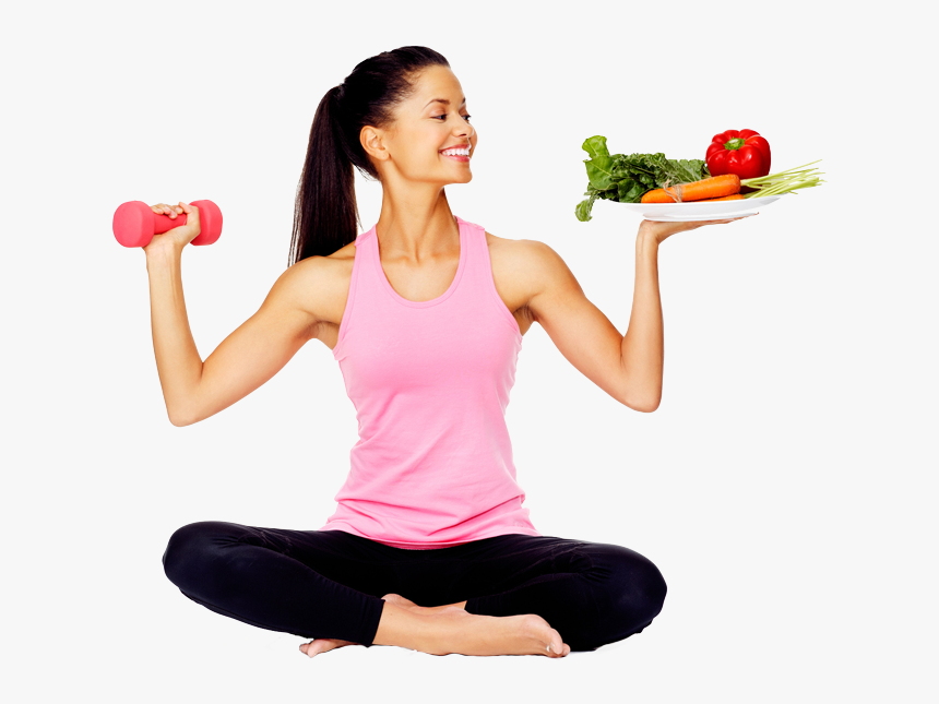 Fitness Mantra Right Food And Right Workout - Exercise Png, Transparent Png, Free Download