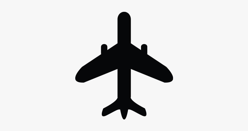 Airoplan Airbus Fly Airplane Plane Icon Black Airplane Clip