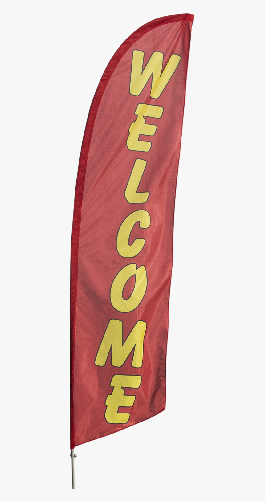 "Welcome Customers With Our Yellow On Red ""welcome - Banner, HD Png Download, Free Download"