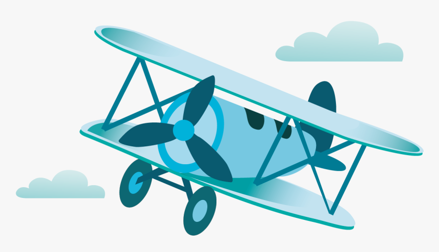 Driven Art,boeing P 12,vickers F - Vintage Airplane Clipart Png, Transparent Png, Free Download