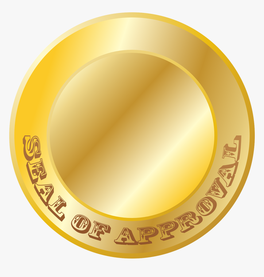 Seal Of Approval Blank, HD Png Download, Free Download