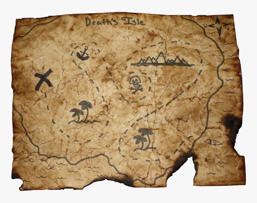 Pirate Treasure Map 5e, HD Png Download, Free Download