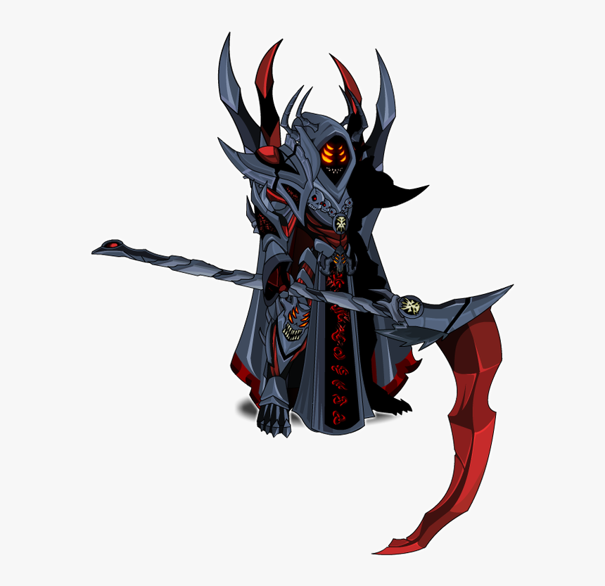 Picture - Aqw Void Warlock Scythe, HD Png Download, Free Download