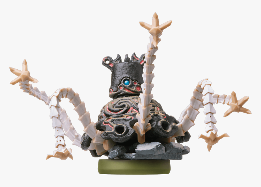 Legend Of Zelda Breath Of The Wild Guardian Amiibo Hd Png