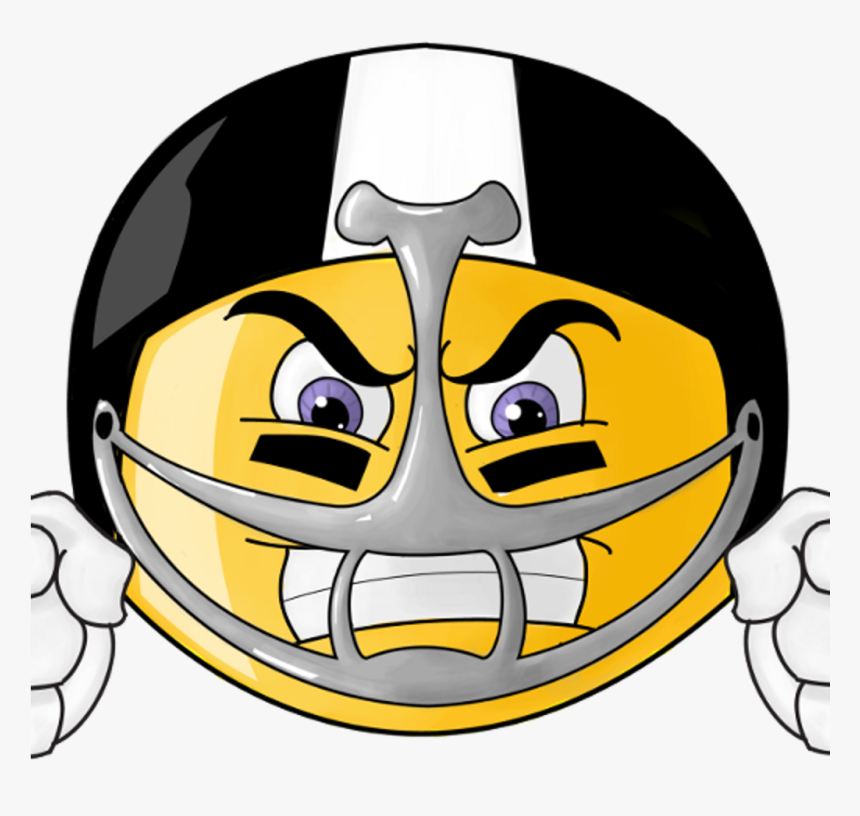 Transparent Eye Roll Clipart - Football Game Face Emoji, HD Png Download, Free Download