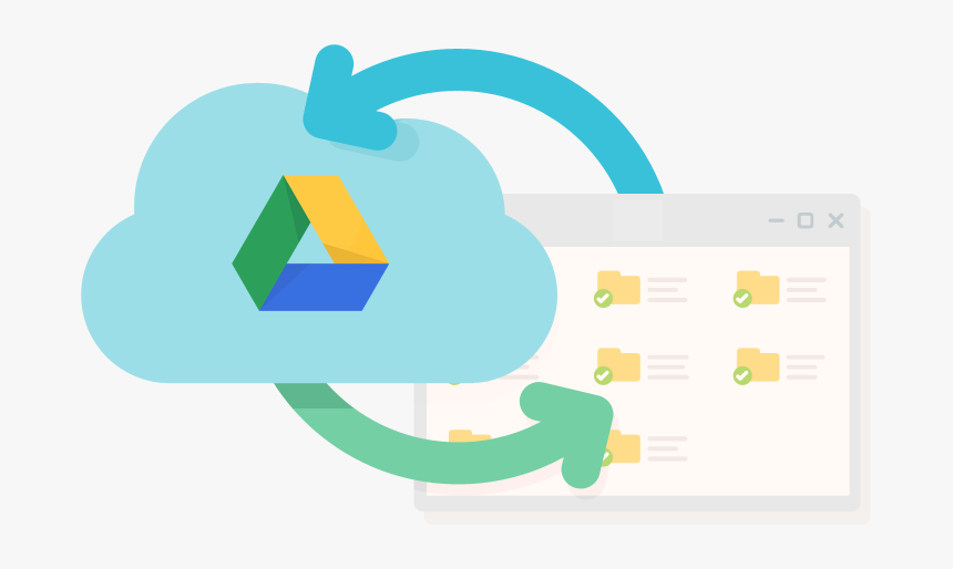 Easily Manage Multiple Google Drives With Insync - Google Drive, HD Png Download, Free Download