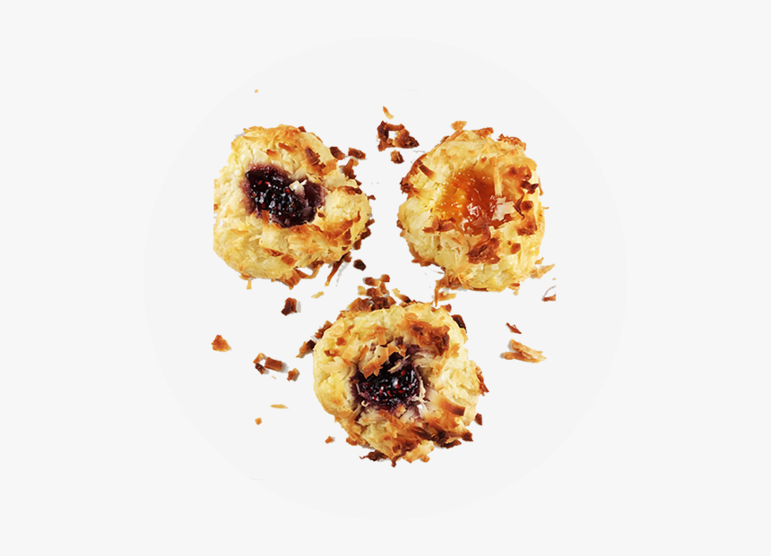 Jam Thumbprints - Pastry, HD Png Download, Free Download