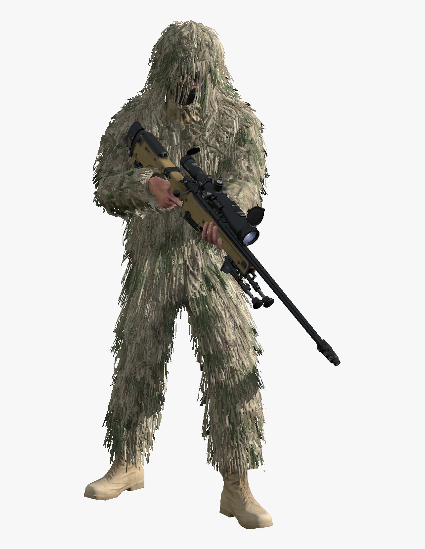 Call Of Duty Ghosts Sniper Png Download - Call Of Duty Mw1 Sniper, Transparent Png, Free Download