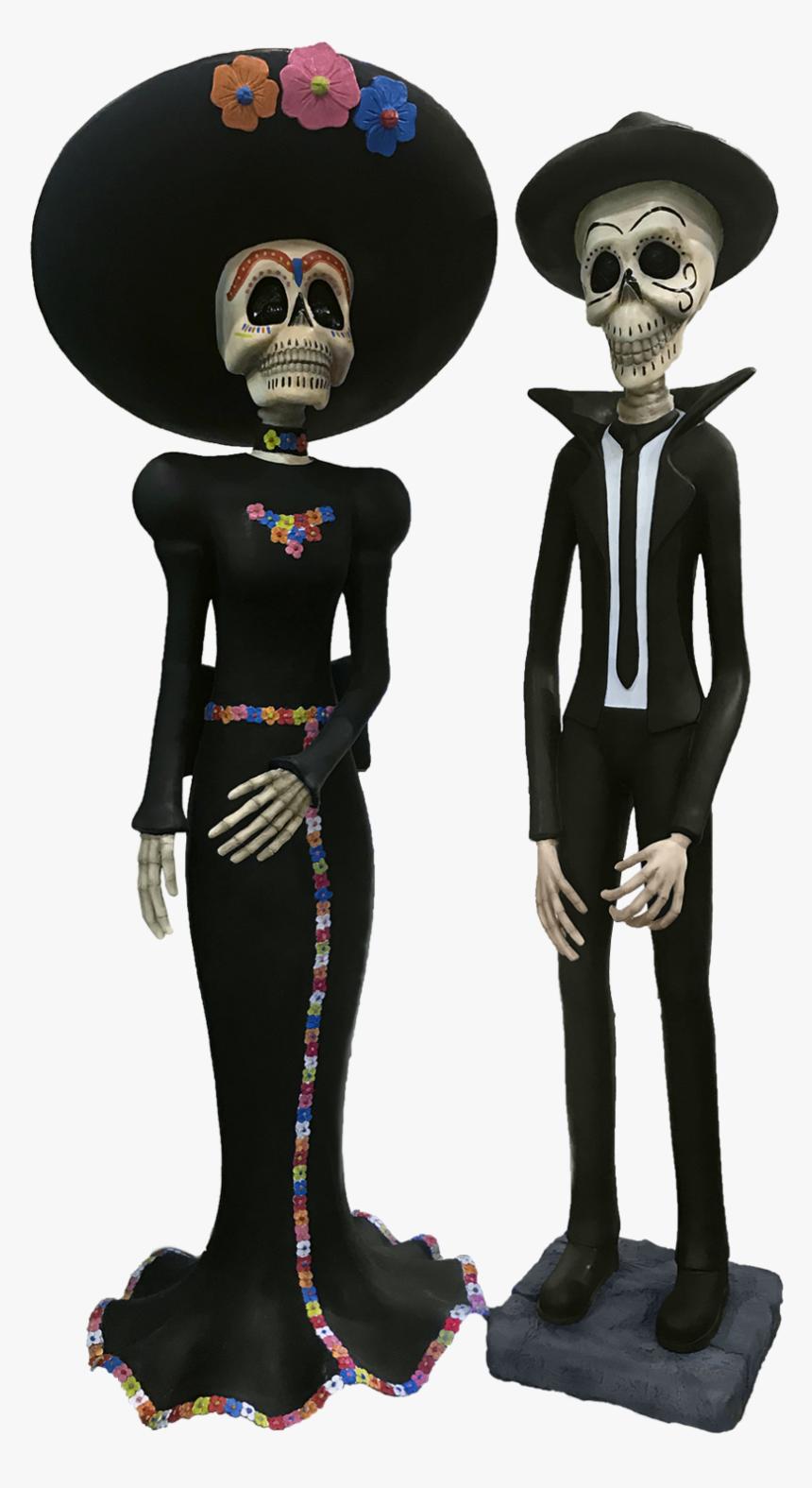 Día De Los Muertos - Día De Los Muertos Statues, HD Png Download, Free Download