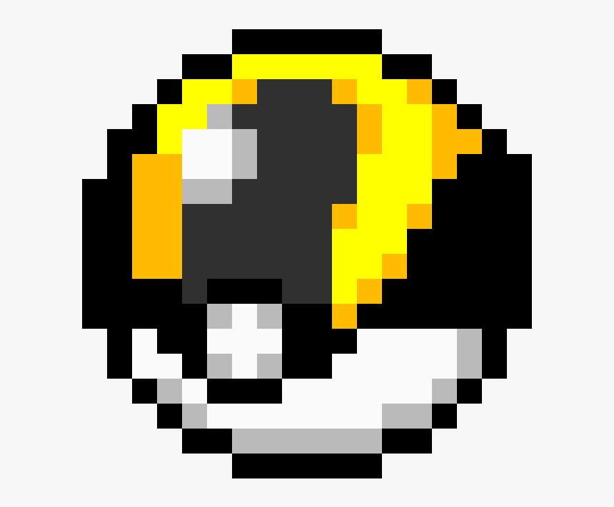 Pokemon Master Ball Pixel Art, HD Png Download, Free Download