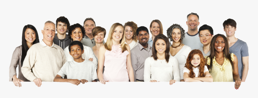 People Of Different Ages And Races, HD Png Download, Free Download