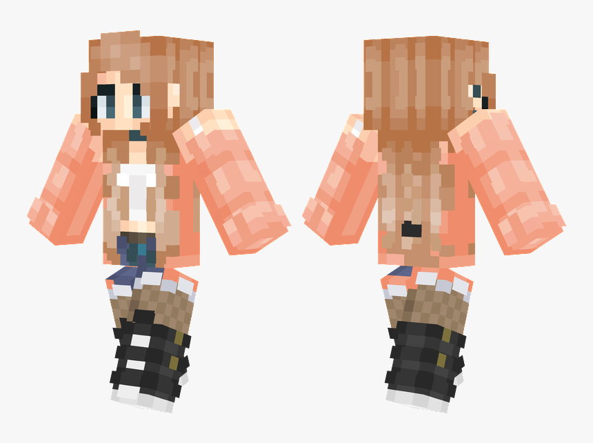 Minecraft Skin With Boots, HD Png Download, Free Download
