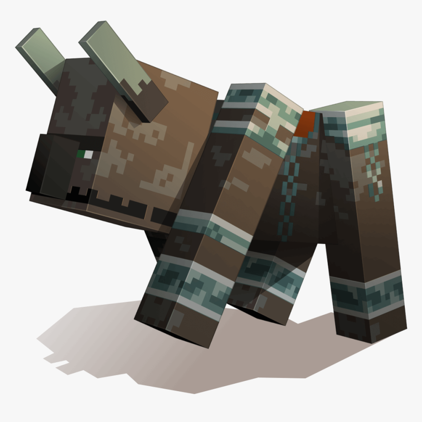 Minecraft Pillager Riding Ravager, HD Png Download, Free Download