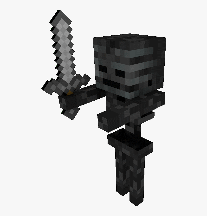 Minecraft Wither Skeleton, HD Png Download, Free Download