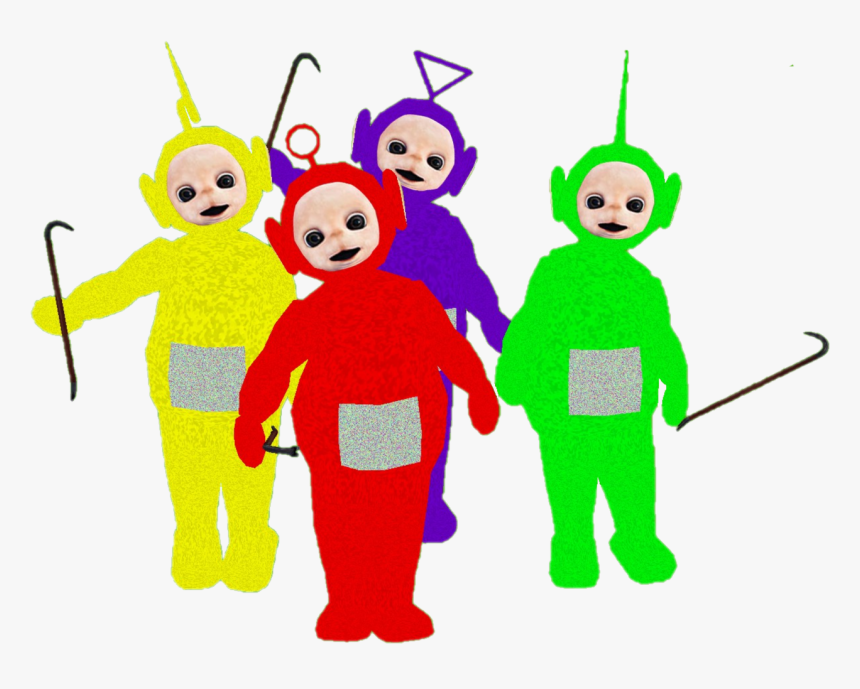 Transparent Messy Table Clipart - Teletubbies Transparent, HD Png Download, Free Download