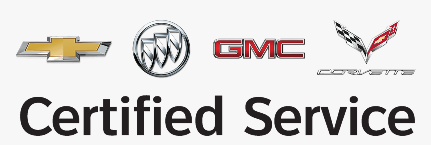 Certified Service - Chevrolet Buick Gmc Corvette Logo, HD Png Download, Free Download