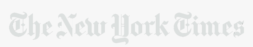 New York Times Png White Logo Transparent Png Kindpng