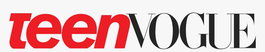 Teen Vogue Logo Png, Transparent Png, Free Download