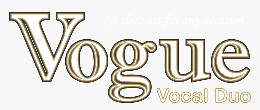 Vogue Vocal Png Logo - Vogue Logo Png Gold, Transparent Png, Free Download