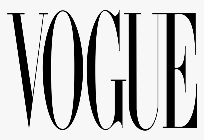 Photo Courtesy Wikimedia Commons Via Creative Commons - Vogue Logo, HD Png Download, Free Download