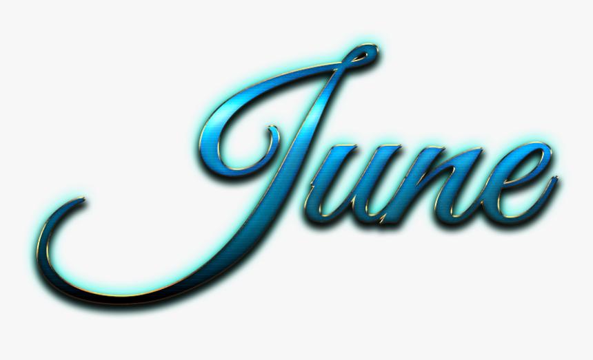 June Italic Logo Png - June Logo Png, Transparent Png - kindpng