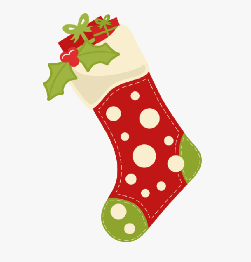 Stocking Cliparts Cartoon Cute Christmas Stocking Hd Png Download Kindpng