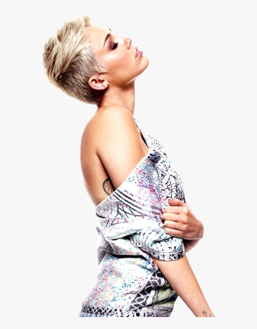 Miley Cyrus Elle Uk 2013, HD Png Download, Free Download