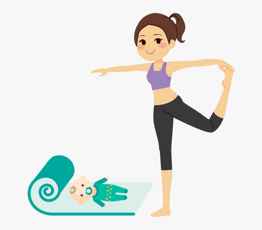 Relax Clipart Yoga Class Exercise Poses For Girls Hd Png Download Kindpng