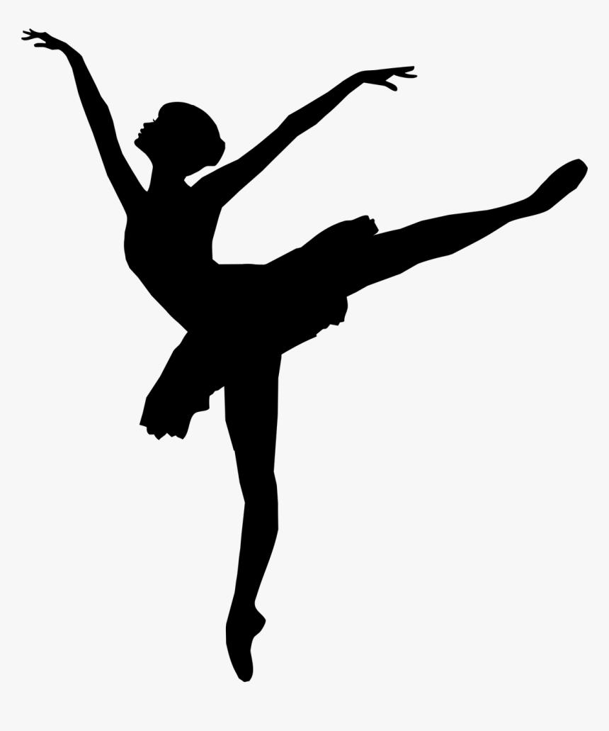 Ballerina Drawing Black Hd Png Download Kindpng