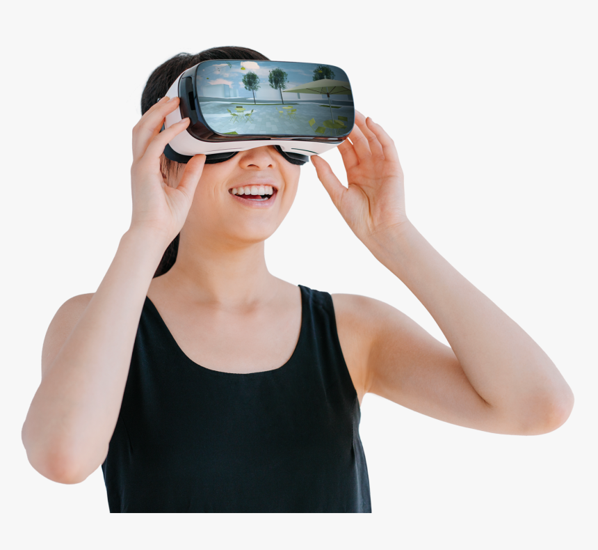Montreal Virtual Reality Headset Augmented Reality - Virtual Reality Png, Transparent Png, Free Download