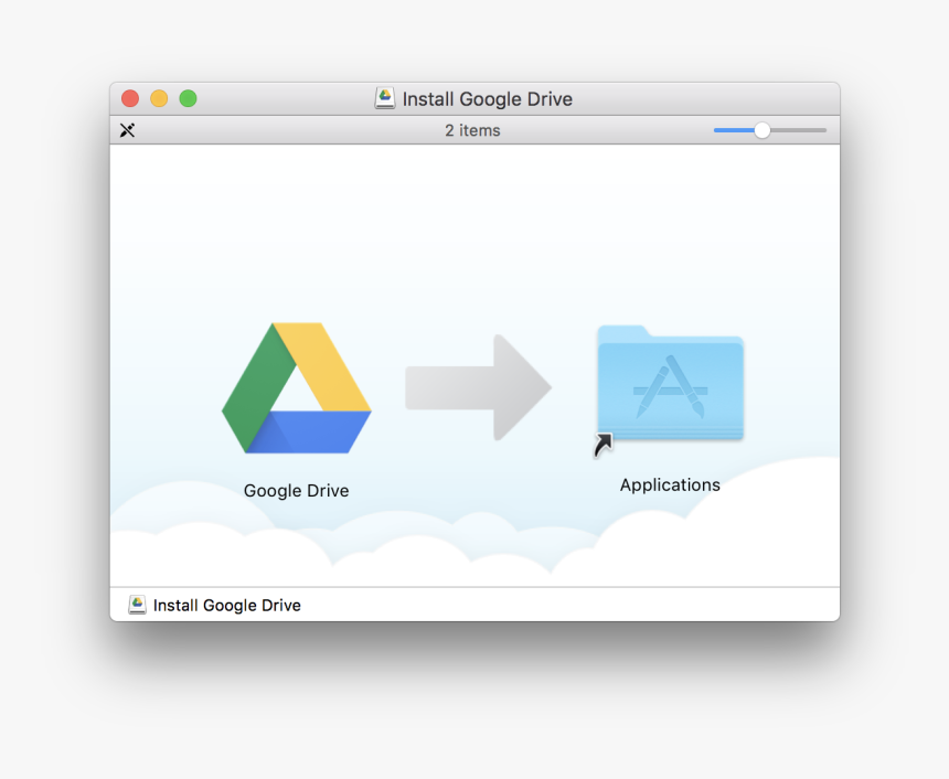 Install On Your Mac - Google Drive On Mac, HD Png Download, Free Download
