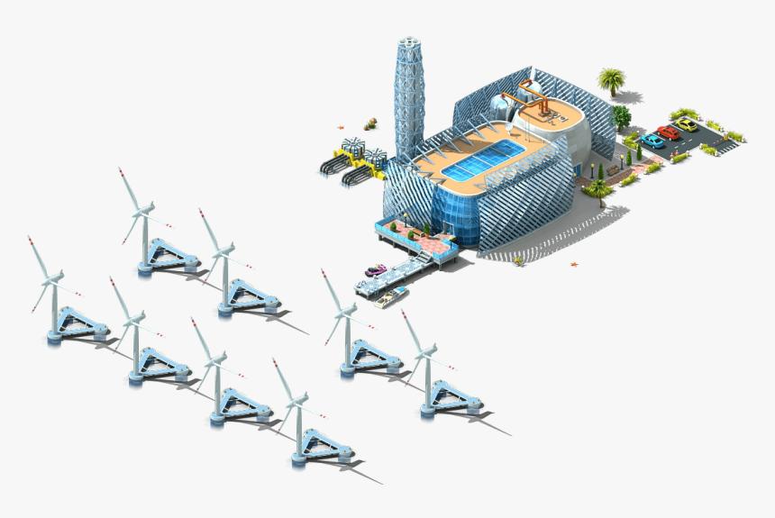 Megapolis Wiki - Megapolis Wind Farm, HD Png Download, Free Download