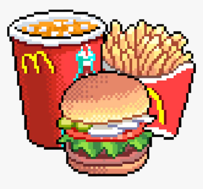 Pixel Art Portable Network Graphics Food - Fast Food Pixel Art, HD Png Download, Free Download