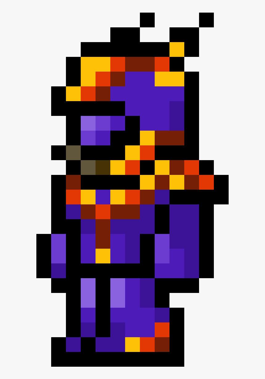 Terraria Armor Pixel Art Png Download Super Mario World